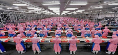 Manufacturing: Striking Burtynsky Images on Working Conditions in China