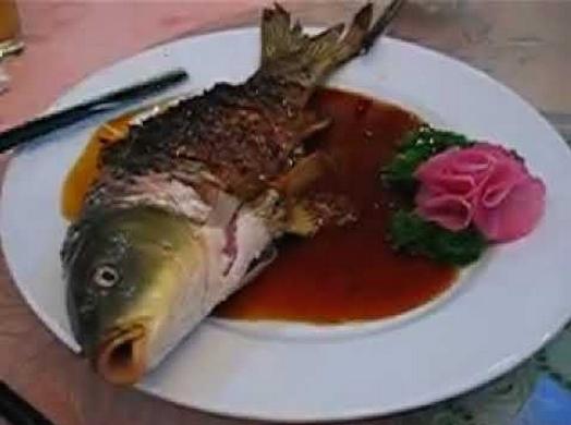 pesce mangiato vivo