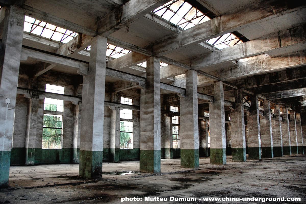 fabbrica abbandonata in Cina