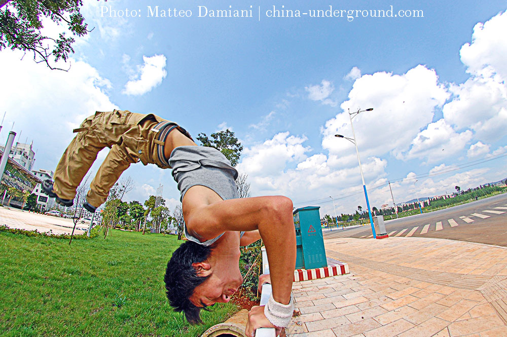 Parkour-in-China