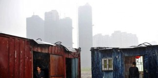 Living in containers in China