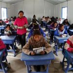 Qinghai: going back to school after the quake