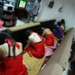 Prostitution raid in China pictures – Nanning