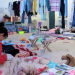 """Disastrous conditions of the """"dorms"""" at a Chinese university"""