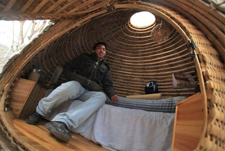Beijing designer built an egg house