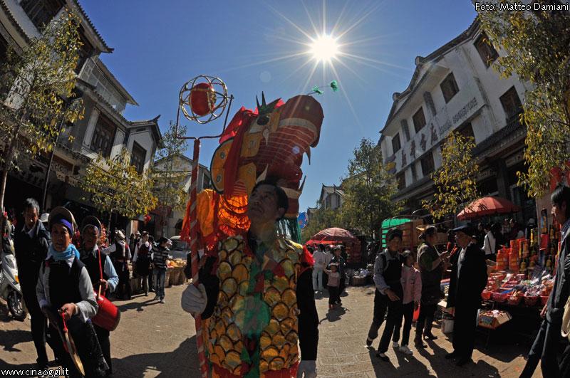 traditional dragon dance