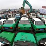 Unusual Vision: Mass demolition of hundreds of illegal vehicles in China