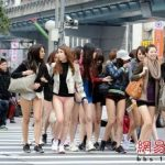 """No Pants Day"" in Taiwan"