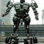 Chinese student makes a 10-meter high transformer