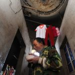Dozens of Chinese families living in concrete silos