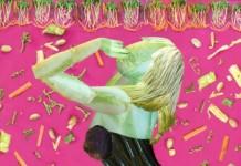 Lady Gaga - Vegetable Art