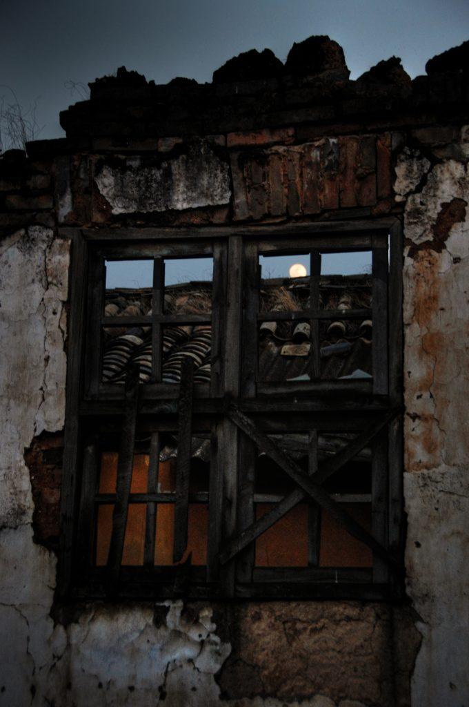 abandoned factory china