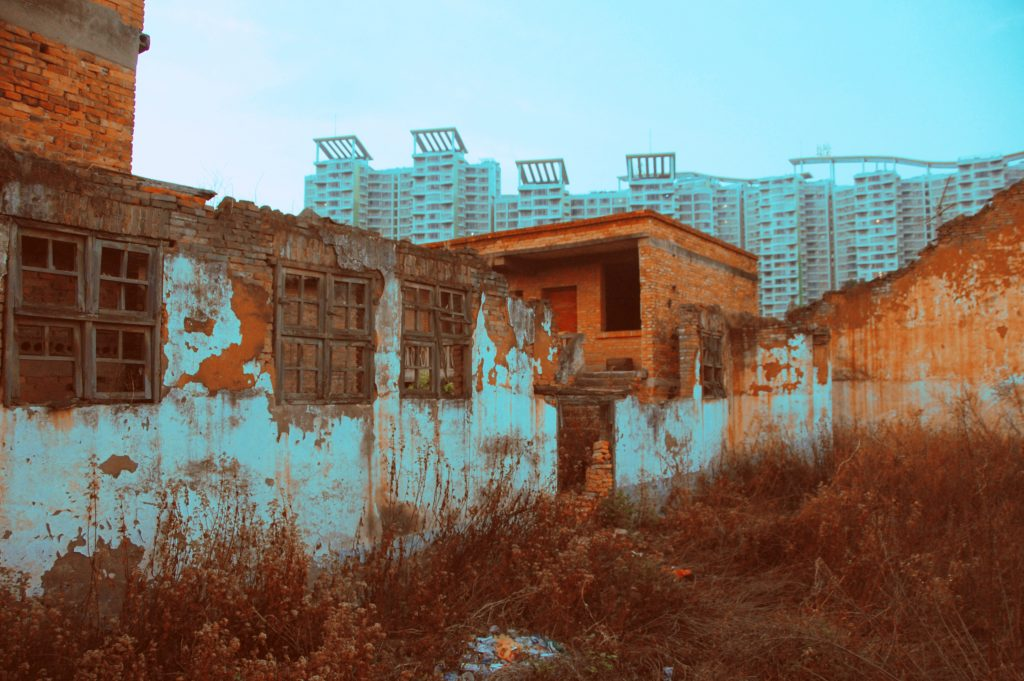 abandoned factory china