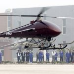 First flight of the world's largest unmanned helicopter