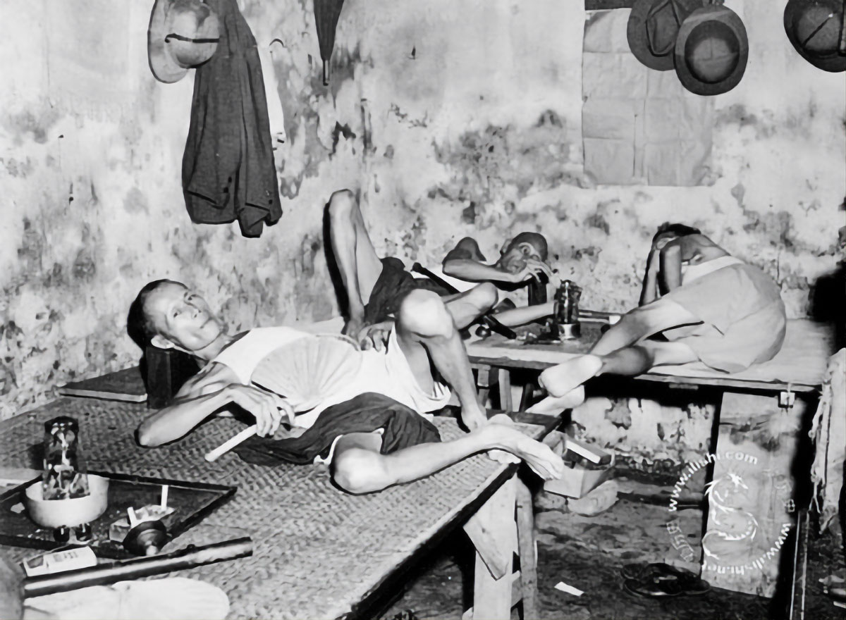 Chinese Opium-Smokers