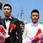First same-sex marriage in China: 26 images