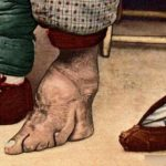 21 old (and scary) pictures of lotus feet