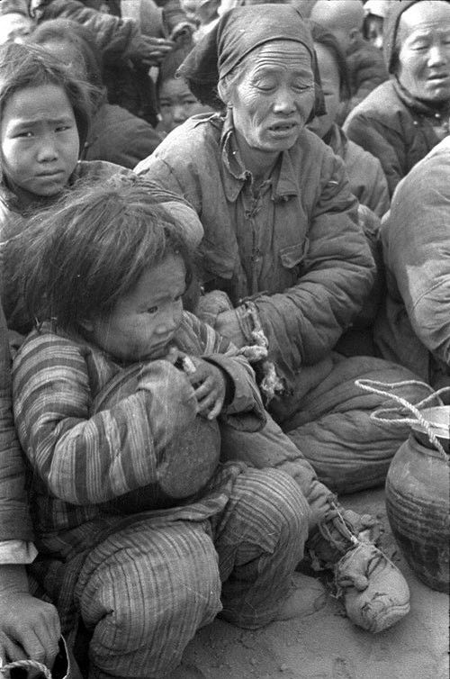 China famine images