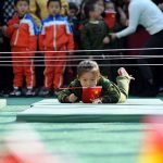 Chinese kids army against Japan