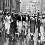 Chinese Women of America anti Japanese demonstrations in New York in 1938: 15 beautiful pictures