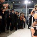 Chinese scandal - Scandal at Chinese Motorshow: baby models in bikini