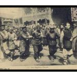 Postcards of slow slicing during Qing Dinasty (Graphic content)