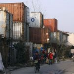 Home Container city in Shanghai