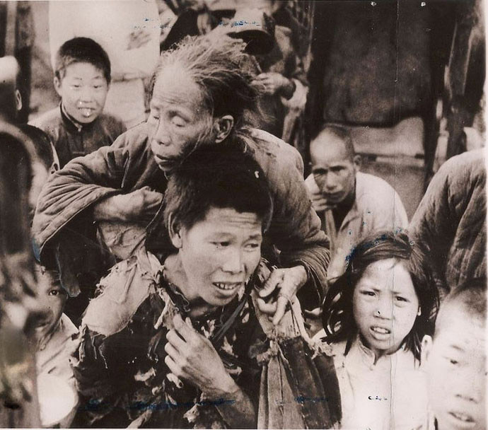 Chinese Civil War Famine