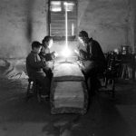 20 fascinating images of a funeral parlor in China in 1948