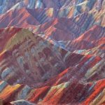 Spectacular colourful Zhangye Danxia images