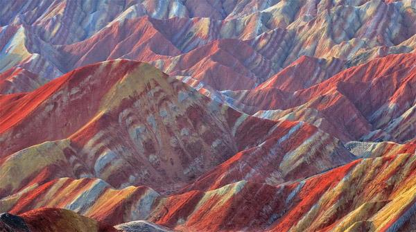 Zhangye Danxia images
