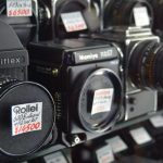 Champagne Court camera market for film enthusiasts, images