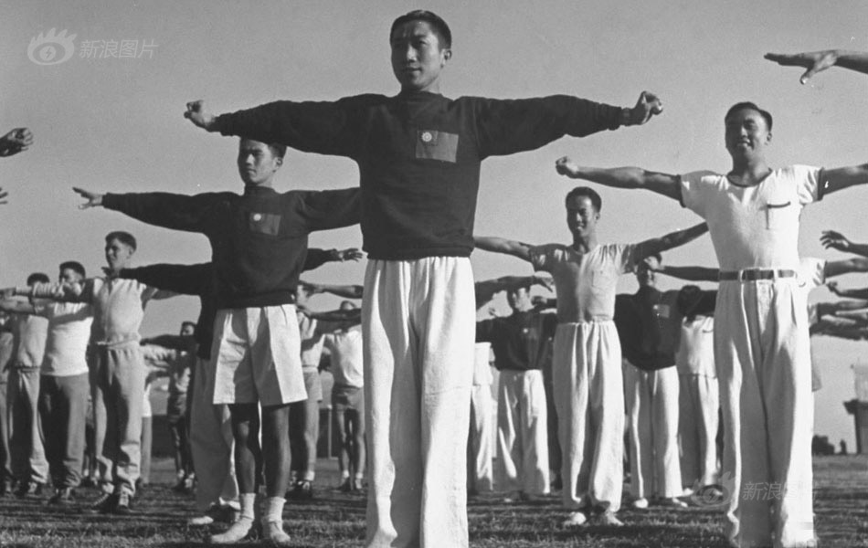 The Flying Tigers training camp