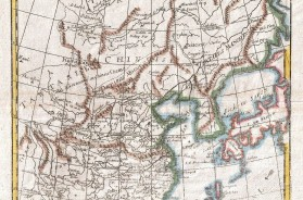 1780 - Raynal and Bonne Map of China, Korea and Japan