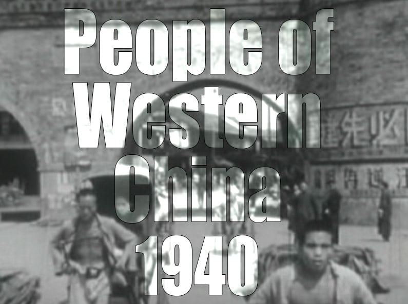 People of Western China