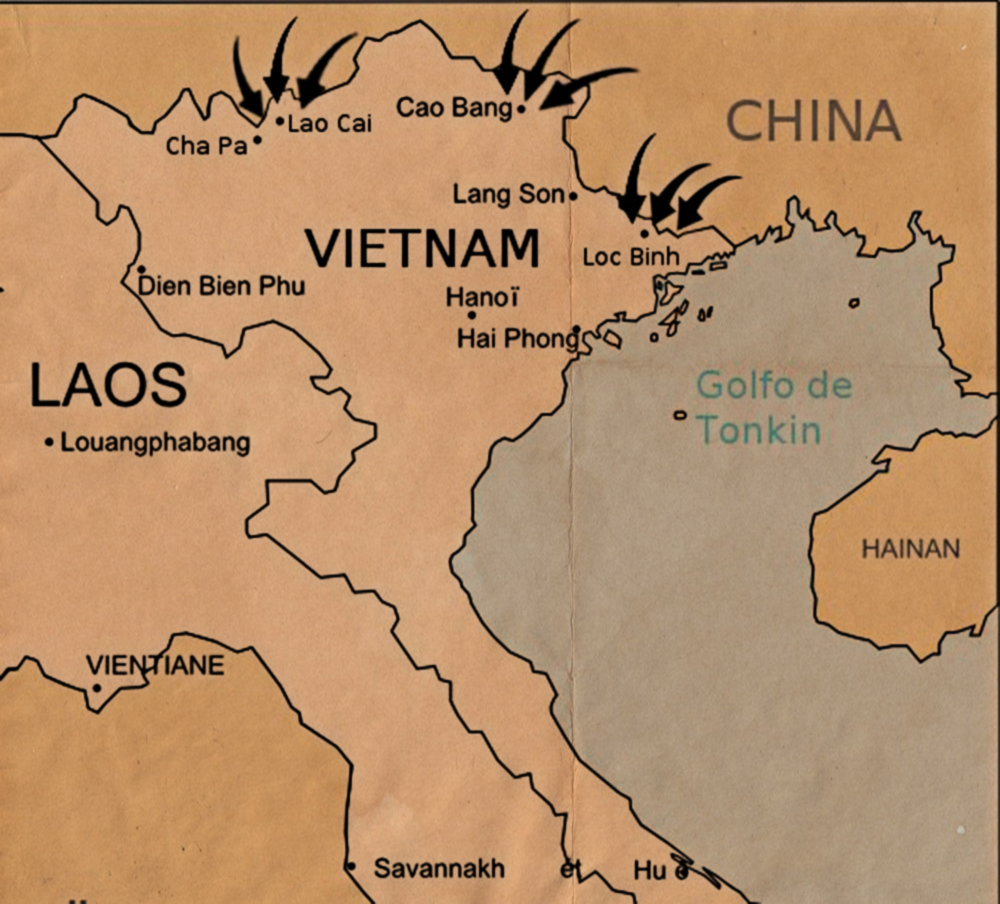 sino-vietnamese-war map