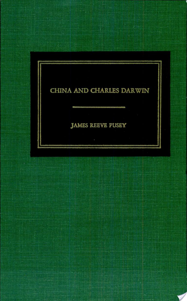 China and Charles Darwin