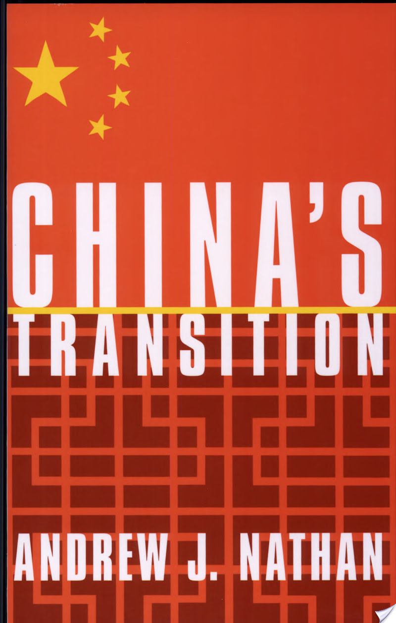 China's Transition,Andrew J. Nathan, China's Transition