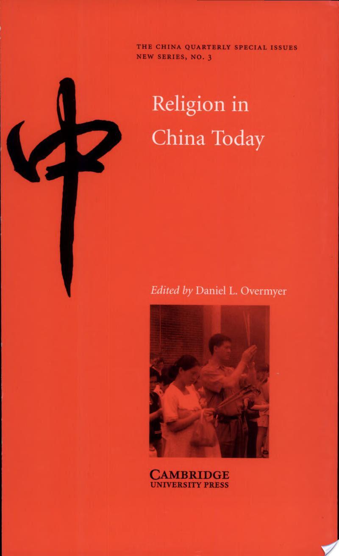Religion in China Today, Religion in China Today
