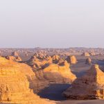 The bizarre rock formations of Dunhuang Yardang National Geopark
