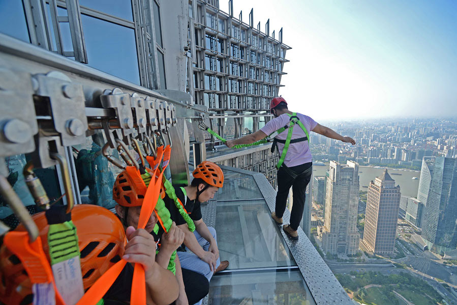 Jin Mao Tower sky walk