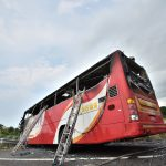 Taiwan bus burst into flames, killing 26, including 24 tourists from China