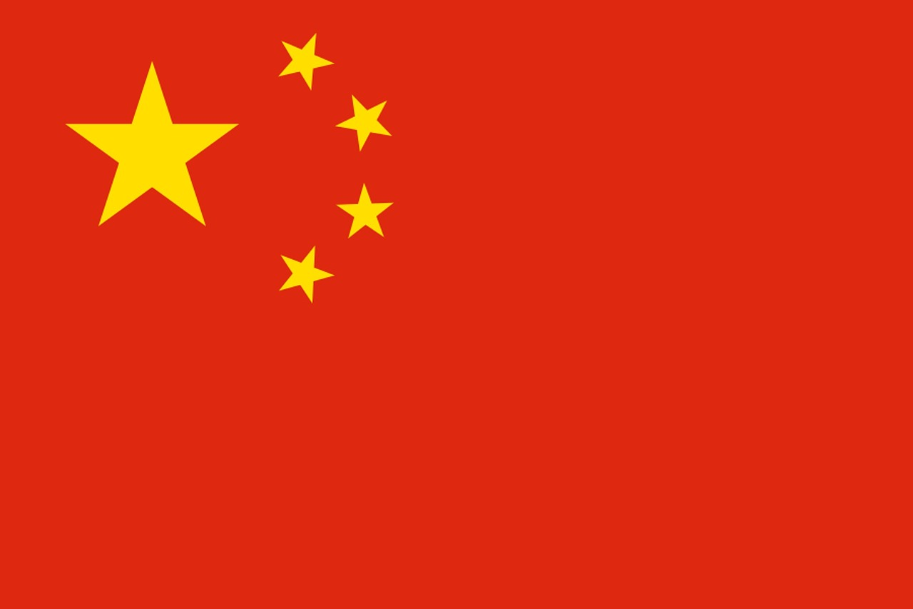 China flag photo