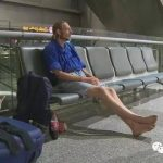Dutch man's day-wait at Chinese airport for woman ends in hospital