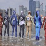 Facekini: from swimsuit, to cosplay costume for the beach