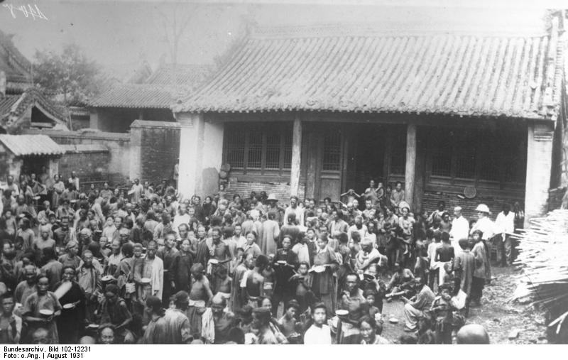 China, flood victims-1931 China Floods
