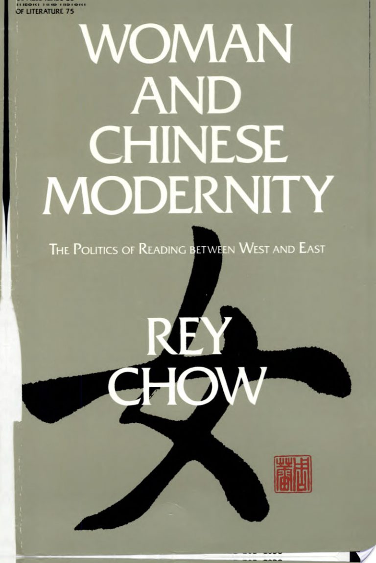 Woman and Chinese Modernity