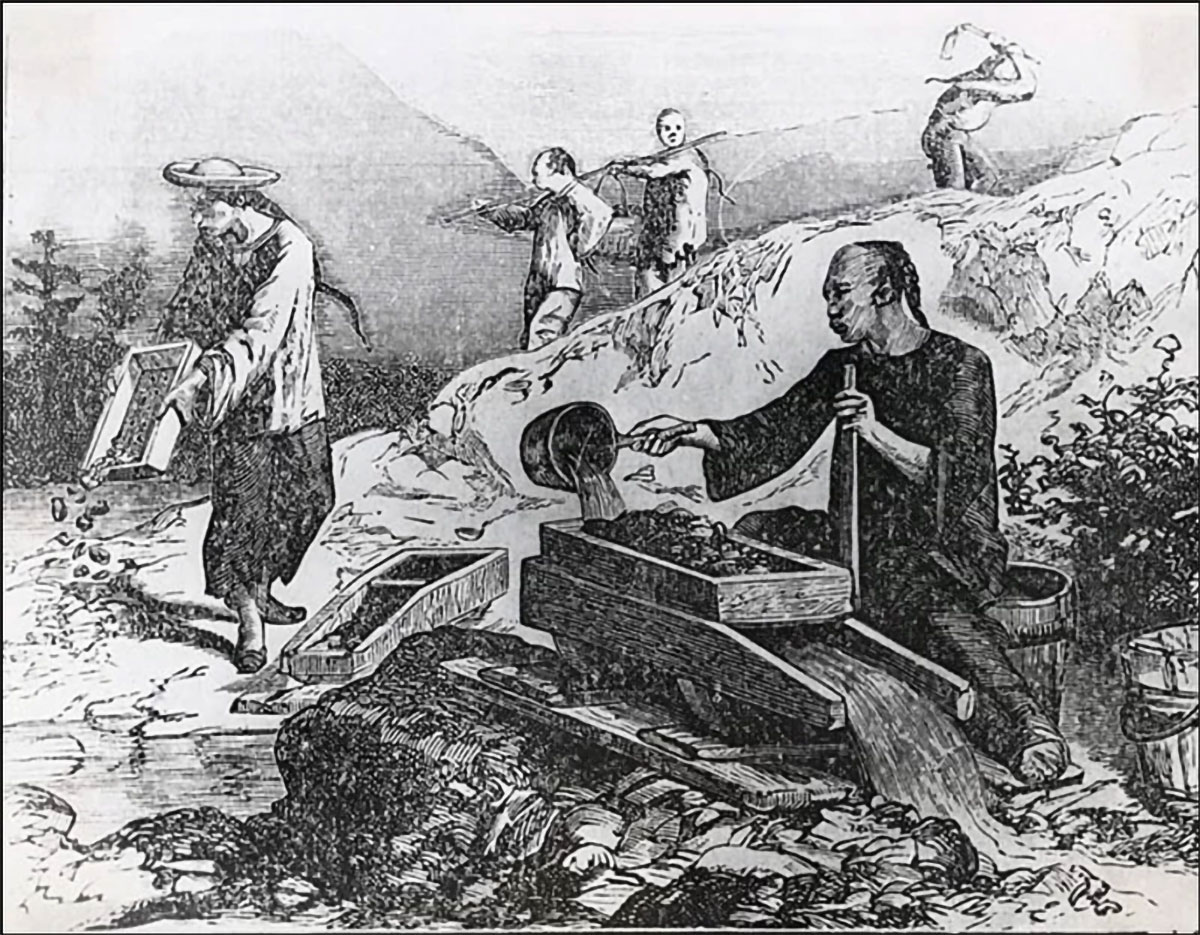 History of Chinese Diaspora in America