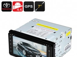 2 DIN 7 Inch Toyota Car DVD Player