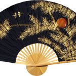 Chinese Wall Fans : Bamboo Moon